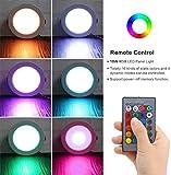 LED Recessed Lights, 4 inch RGB