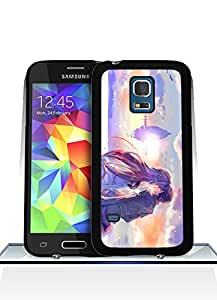 Galaxy S5 Mini Funda Case, Game - Sword Art Online Impact Resistant Durable Aesthetic Personalized Style Anti Dust Extra Slim Compatible with Samsung Galaxy S5 Mini
