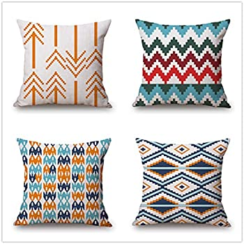 Languo Maoyi Christmas Throw Pillow Covers, Decorative Pillow Cases, Cotton Linen Cushion Covers for Sofa, Couch, Bed and Car (18