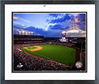 "Colorado Rockies Coors Field 2014 MLB Stadium Photo 12.5"" x 15.5"" Framed"