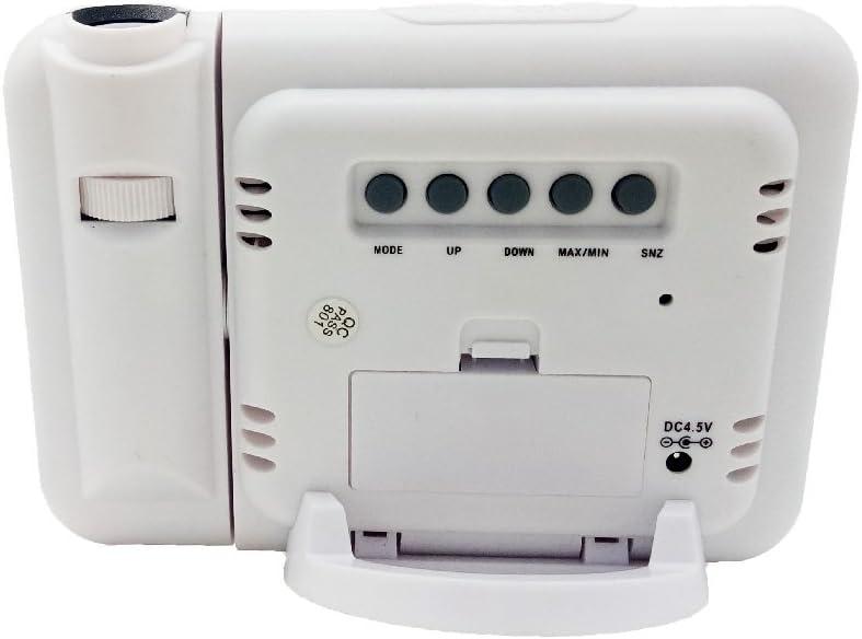 Bashley R/éveil Grand Affichage /à LED R/éveil num/érique,Roupillon,Affichage de la Date,Temp/érature et lumi/ère Intelligente