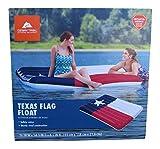 Ozark Trail Texas Flag Pool Float 76x54x8.5
