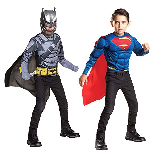 [Armored Batman V Superman 2-IN-1 Costume] (Create Your Own Superhero Costume Online)