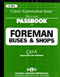 Foreman (Buses and Shops), Jack Rudman, 0837302641