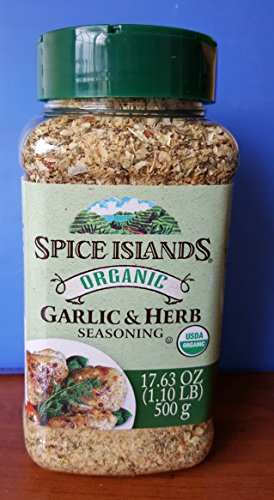 Spice Herb - Spice Islands Organic Garlic & Herb Seasoning 17.6oz