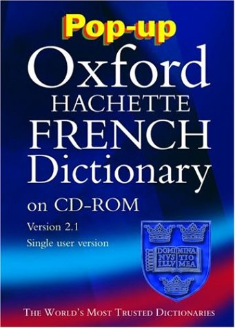 Download Pop-up Oxford-Hachette French Dictionary: Windows Individual User Version 2.0 PDF