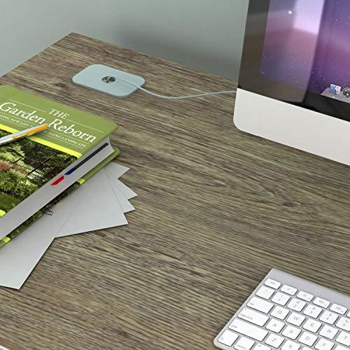 SHW Triangle-Leg Home Office Computer Desk