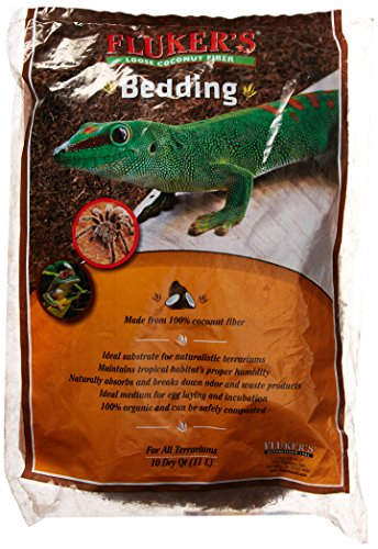 Flukers Loose Coconut Bedding for Reptile, 10 quart