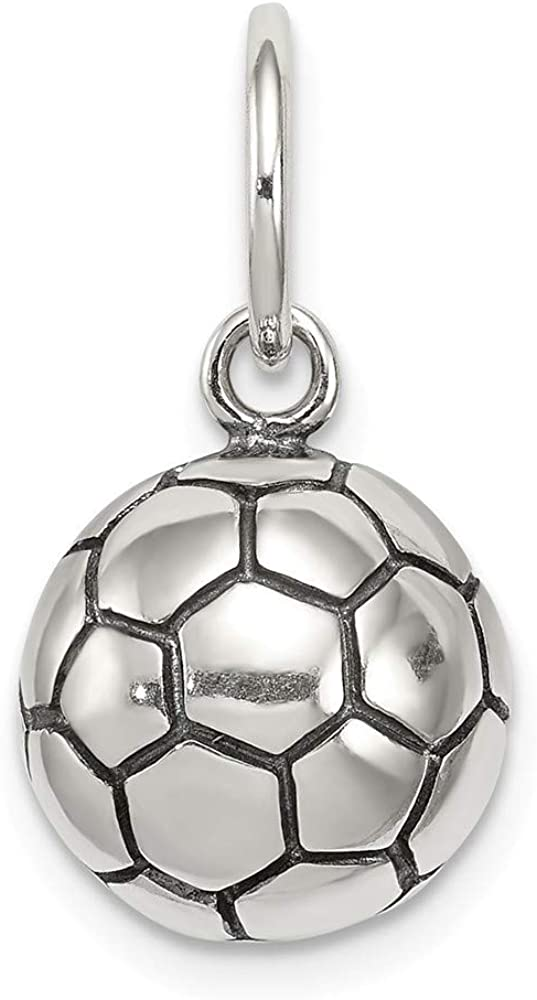 Broche de plata de ley para pulsera de balón de fútbol diseño de ...