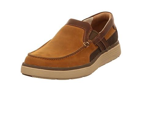 Clarks - Mocasines para Hombre, Color Marrón, Talla 46 EU: Amazon.es: Zapatos y complementos