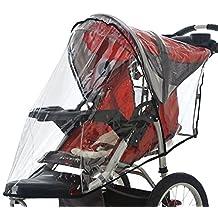 InSTEP Swivel Wheel Jogger Single Stroller Weather Shield in Clear
