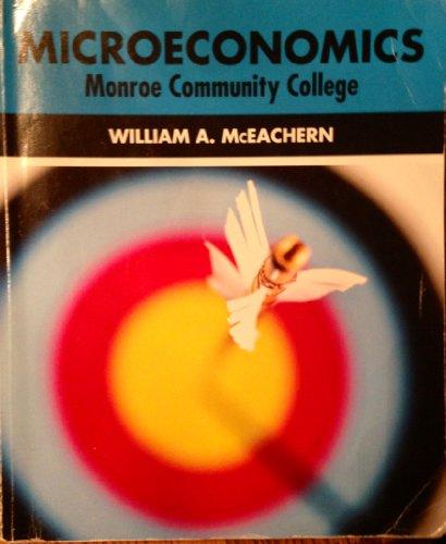 Microeconomics Monroe Community College Edition