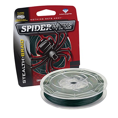 Spiderwire SCS10G-300 Stealth, 300-Yard/10-Pound, Moss Green