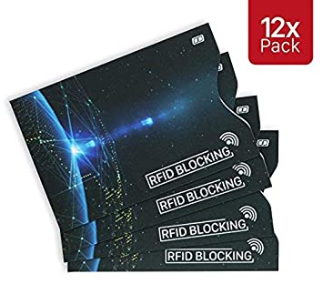 4d2a36c47ca8f MyGadget RFID   NFC Schutzhüllen Set  12 Stück  - Kreditkarten Datenschutz  sicheres Blocking gegen