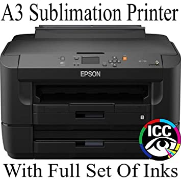 EPSON A3 SUBLIMATION PRINTER WITH REFILLABLE CARTRIDGES AND