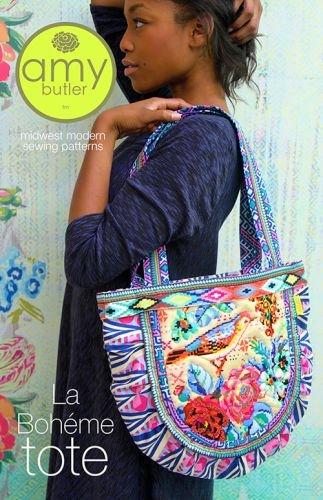 Amy Butler Craft Bag - Amy Butler La Boheme Tote Sewing Pattern DYI Tote