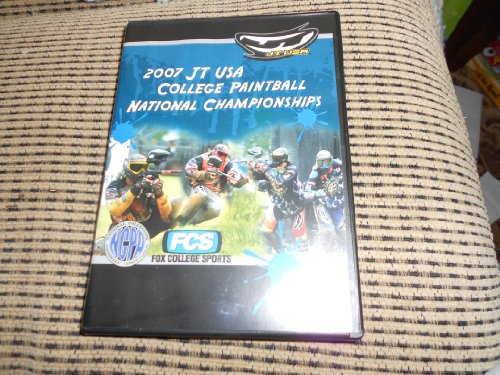 2008 JT Sports College Paintball National Championship DVD (NCPA)