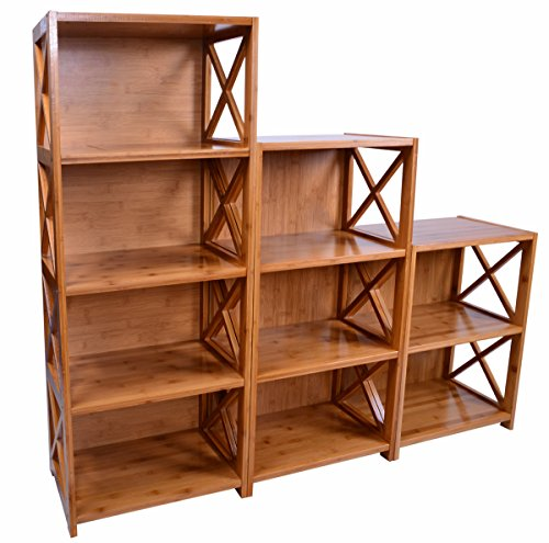 natural bamboo 9 cube storage unit import it all. Black Bedroom Furniture Sets. Home Design Ideas