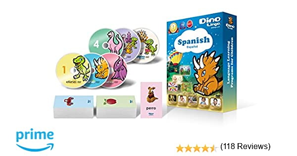 Amazon.com: Spanish for Kids - Learning Spanish for Children DVD ...