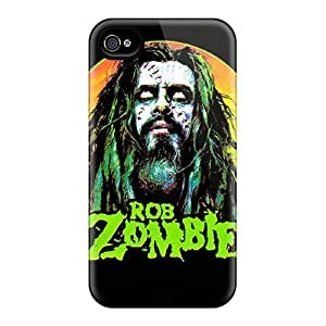 Anti-scratch And Shatterproof Rob Zombie Phone Case For Iphone 4/4s/ High Quality Tpu Case