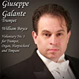 William Boyce: Voluntary No. 1 in D Major for Trumpet, Organ, Harpsichord and Timpani