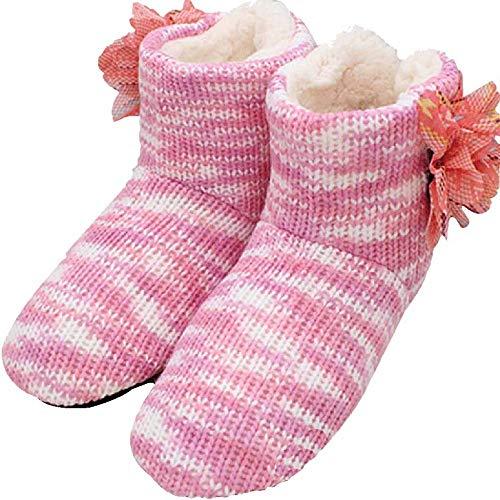 En D'hiver Glissent Coton Maison D La Les Chaude Ne Pas Intérieure Cuir De Pantoufles À Épaisses Molles ZHSqS0p