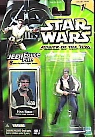 Star Wars Power of the Jedi Death Star Escape Han Solo Action Figure by Puzzle Zoo