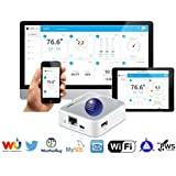 Ambient Weather WEATHERBRIDGE Universal WIFI IP Ethernet Server for Weather Stations, Compatible with Alexa
