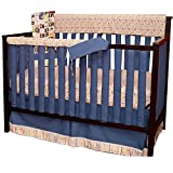 Go Mama Go A is for Alien Teething Guard, Blue, 52'' x 12''