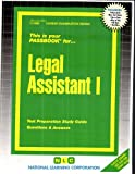 Legal Assistant I, Jack Rudman, 0837329884