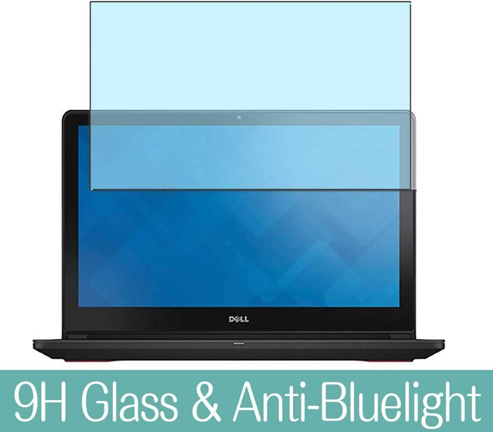 Synvy Anti Blue Light Tempered Glass Screen Protector for DELL Inspiron 15 7000 Series(7559) with Touch Display 15.6