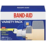 Band-Aid Brand Comfort-FlexAdhesive Bandages Variety Pack, 280 Count