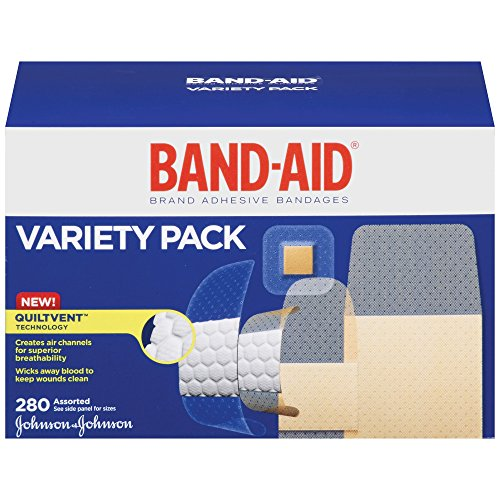 Band-Aid Brand Comfort-Flex Adhesive Bandages For An Active Lifestyle, Variety Pack, 280 Count