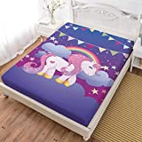 Oliven 3D Cartoon Unicorn Sheets Queen
