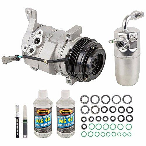 AC Compressor w/A/C Repair Kit For Chevy Silverado 1500 & GMC Sierra 1500 - BuyAutoParts 60-81583RK NEW