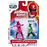 Jakks Pacific, Hero Portal, Saban's Power Rangers Super Megaforce Booster Pack, Pink Ranger and Green Ranger
