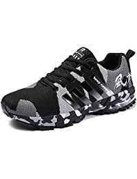 Mens Air Cushion Running Shoes Women Lightweight Sports Sneakers Athletic Outdoor Walking Tennis