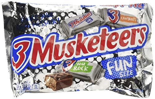 (3 Musketeers Fun Size Bars 10.48 oz Bag (2 pack) )