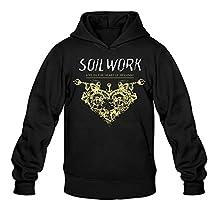 Men's Soilwork Live In The Heart Of Helsinki Cool Hoodie Sweatshirt