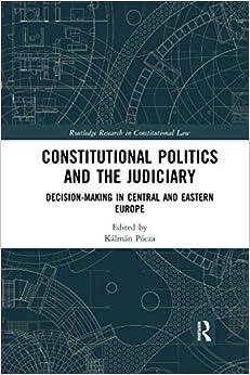 Book's Cover of Constitutional Politics and the Judiciary (Anglais) Broché – 30 juin 2020