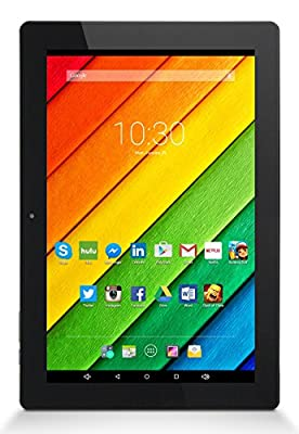 Astro Tab A10 - 10 inch Tablet, Octa Core, Android 5.1 Lollipop, 1GB RAM, 16GB Flash, HD IPS Display 1280x800, HDMI, Bluetooth 4.0, 1 Year US Warranty, FCC Certified