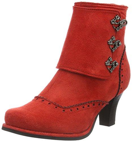 Andrea Conti Damen 3612707 Kurzschaft Stiefel Rot (rot 021)