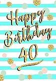 Happy Birthday 40: Birthday Books For