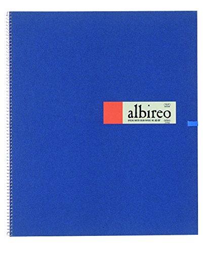 [해외]ホルベイン 알 레오 수채화 종이 스프링 중지 151g (밀 물)를 통하여 20 장 제본 270-133 S-F6 / Holbein Albileo Watercolor Paper Spring 151g Medium Paper 20 pcs 270-133 S-F6