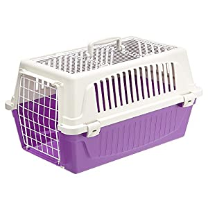 Ferplast Atlas 20 Top Opening Cat and Dog Carrier, Purple Click on image for further info.