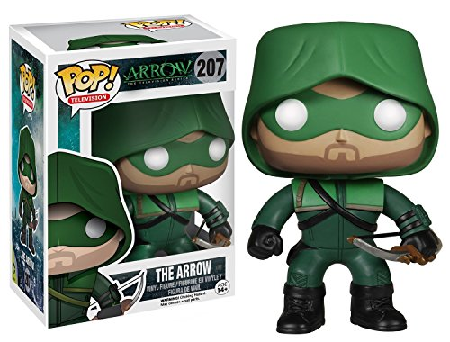 Funko Pop! TV: Arrow The Hood Action Vinyl Figure Bundled with Free Pop BOX PROTECTOR CASE