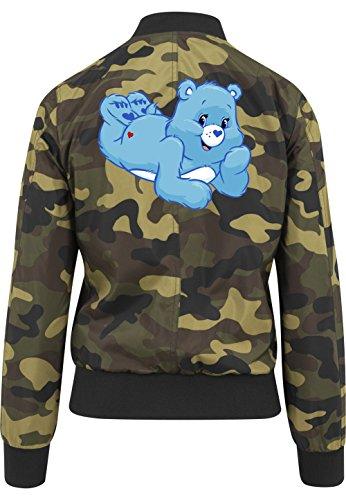 Good Night Bear Bomberjacke Girls Camouflage Certified Freak