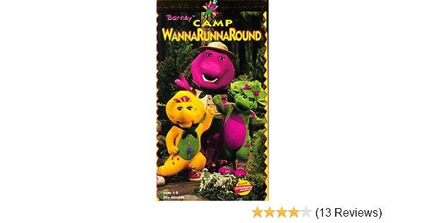 Amazon Com Barney S Camp Wannarunnaround Vhs Bob West Julie