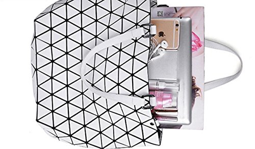 Fashion Folding Bag Shoulder Bag MYLL Bucket New Handbag Pink Matte Women's Silver pqOqw0