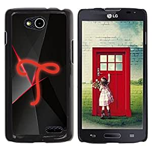 Be Good Phone Accessory // Dura Cáscara cubierta Protectora Caso Carcasa Funda de Protección para LG OPTIMUS L90 / D415 // T